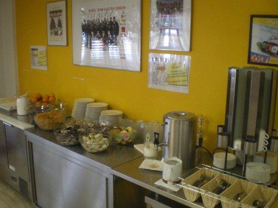 Olympiaworld-Landessportcenter: Frühstücksbuffet