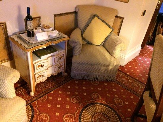 Hotel Splendide Royal: living room