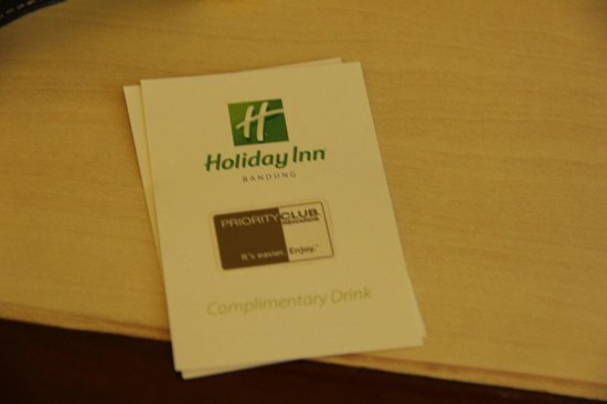 Holiday Inn Bandung: IHG member