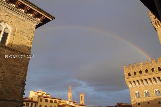 Relais Piazza Signoria: view from the room (301)