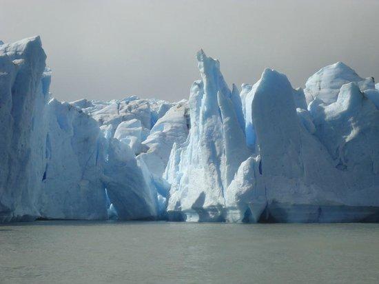 Glacier Grey : Glaciar Grey - Torres del Paine