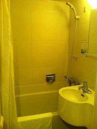 Hotel KeihanTemmabashi : バスルーム