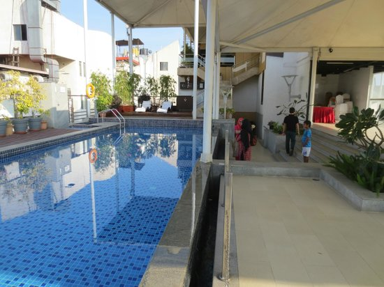 Iris - The Business Hotel and Spa : pool - roof top