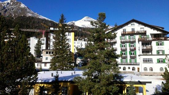 Hotel Cresta Sun: View from the balcony (right)