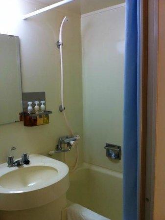 Hotel Sunroute Umeda: バスルーム