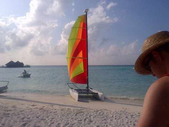 Club Med Kani: Hobie Cat Waves great for lots of fun