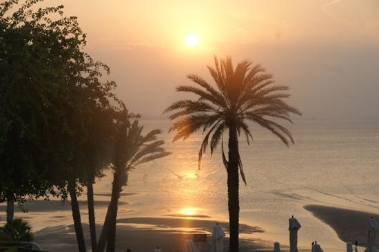 Crowne Plaza Muscat: view from terrasse