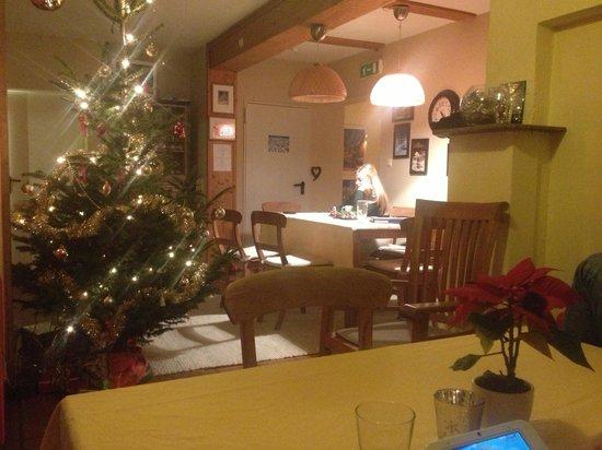 Chalet Linda: Cozy christmas at Pension Linda