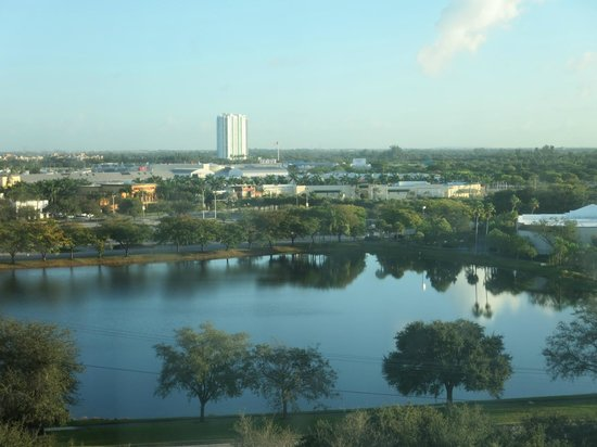 Doubletree by Hilton Sunrise - Sawgrass Mills: View from room