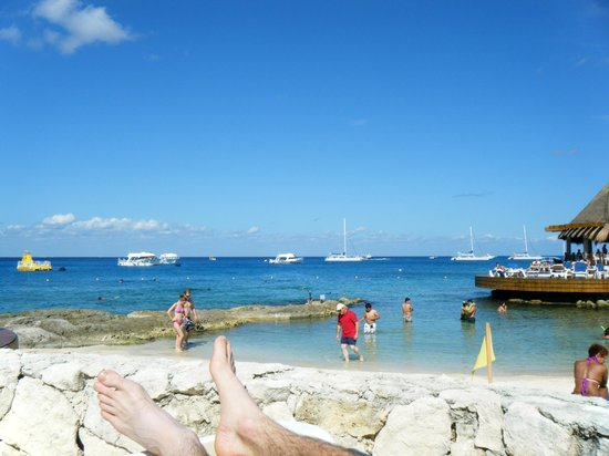 Grand Park Royal Cozumel : beach view