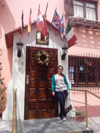 Bayview Hotel: Entrada del Hotel