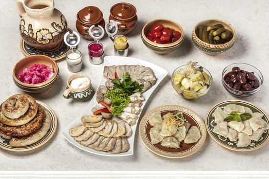 Terracotta Restaurant : Breakfast - Fresh Organic Ukrainian concept
