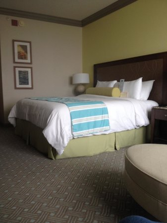Moody Gardens Hotel Spa & Convention Center: King Standard Room