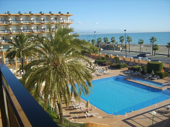ClubHotel Riu Costa del Sol : view from our room
