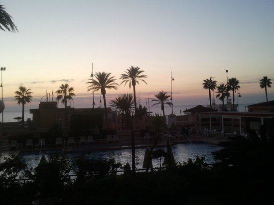 ClubHotel Riu Costa del Sol: iv taken a pic from the dinning room