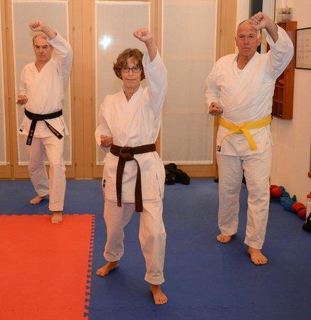 Karate Center Rapperswil: for the older generation