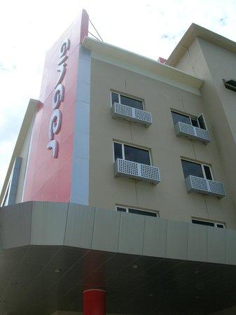 Ginger Hotel Agartala: The Building