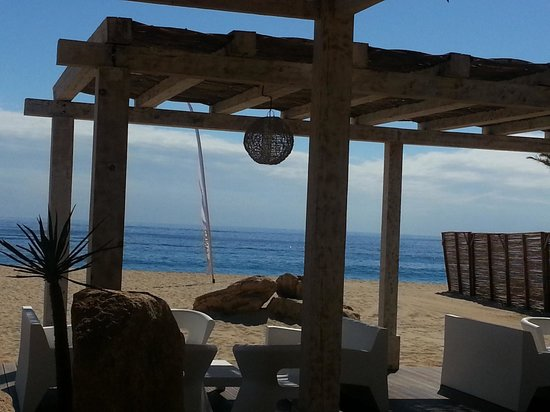 Sandos Finisterra Los Cabos: View from Tortuga Restaurant at lunch time