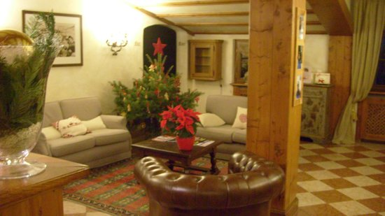 Faloria Mountain Spa Resort: la reception