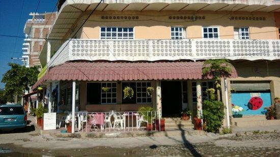 Ladybug Kitchen : The Lady Bug Cafe. A hidden gem in Bucerias