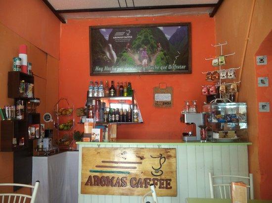 Chivay, Pérou : Aromas Caffee
