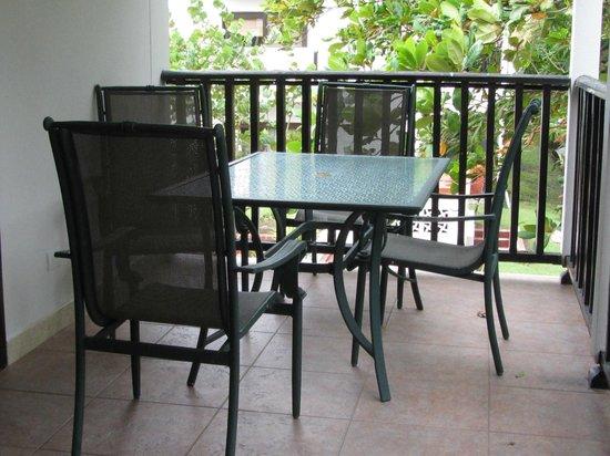 Tranquility Bay Antigua: Our main balcony