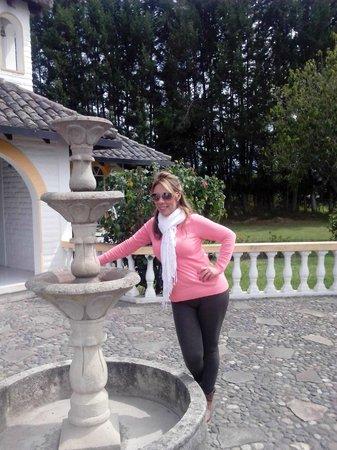 Hosteria San Carlos Tababela: Capilla