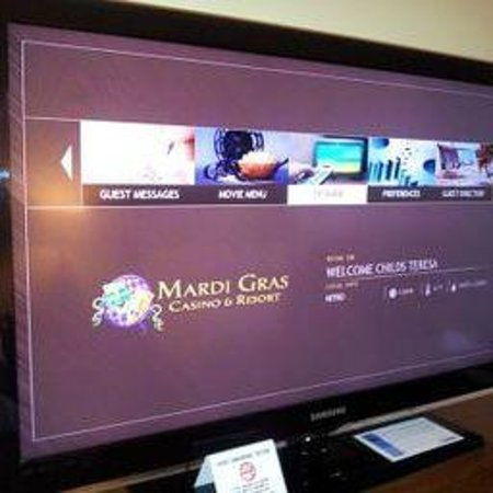 Mardi Gras Casino & Resort : 42 in tv with your family name