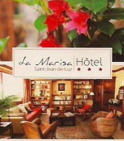 Hotel La Marisa : Carte de visite