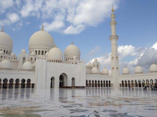 """Scheich-Zayid-Moschee: """"Pátio"""" interno"""