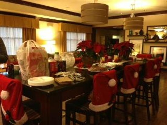 Hampton Inn London-North: Our Christmas Celebration