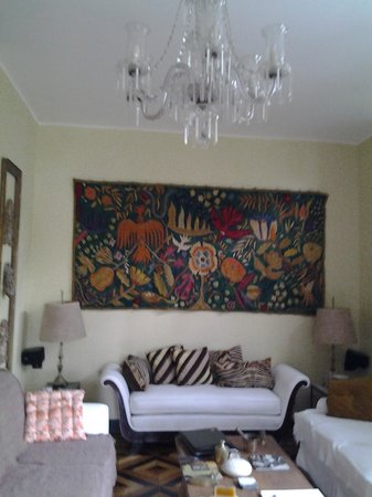 Guesthouse Bianca: Sala de estar