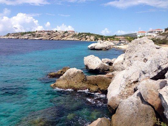 Blue Bay Curacao : Vista desde el último hoyo de golf