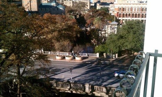 Hilton Palacio del Rio: View from balcony