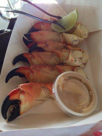 Keys Fisheries: Stone crab legs - $2 a piece!