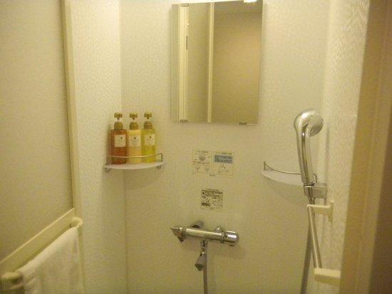 Dormy Inn Obihiro: シャワーブース
