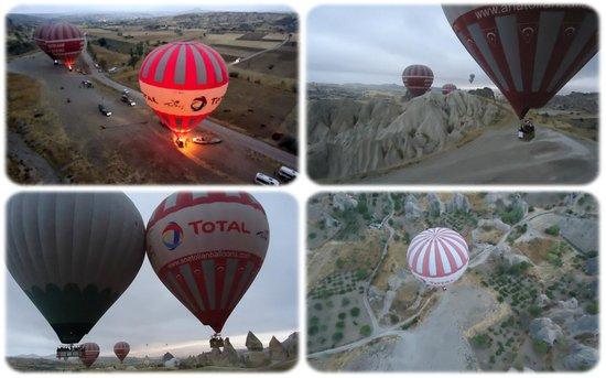 Traveller's Cave Hotel: Полеты на воздушном шаре