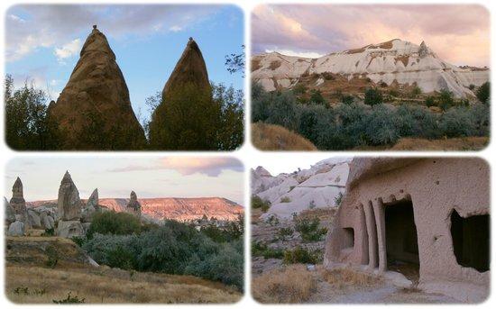 Traveller's Cave Hotel: Голубиная Долина.