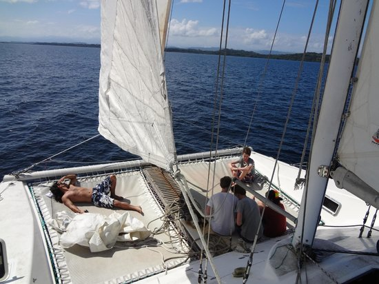 Bocas Sailing: fun time on the boat