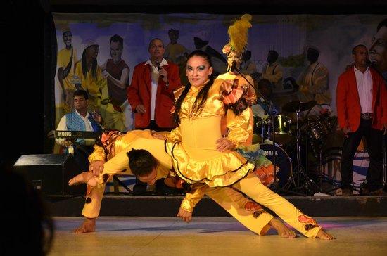 Barceló Solymar: Spectacle danse et chant