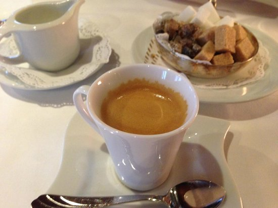 Restaurant zur Sonne Luthern: Kaffee