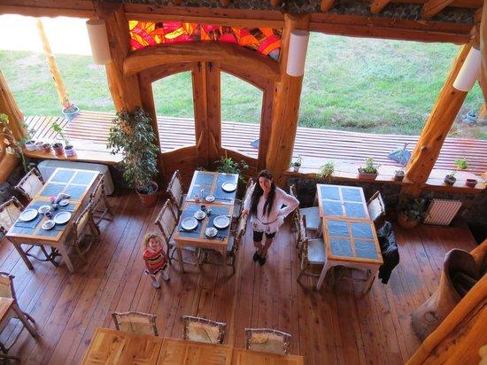 Hosteria Sudbruck: area desayuno