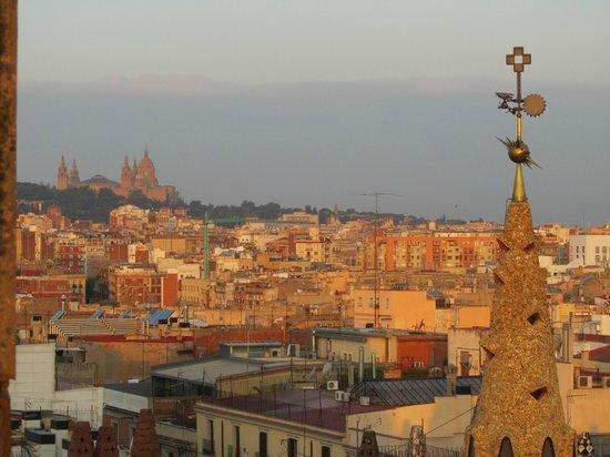Hotel Ramblas Barcelona : Affaccio dalla camera n. 911