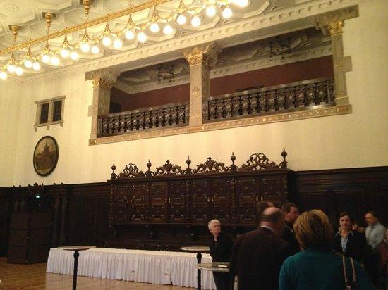 Hôtel de ville de Brême (Rathaus) : sala