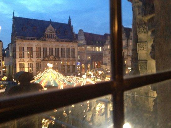 Hôtel de ville de Brême (Rathaus) : vista dall'interno