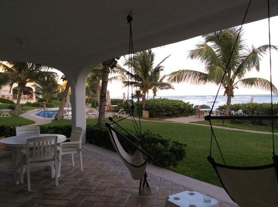 Las Villas Akumal: view from the patio