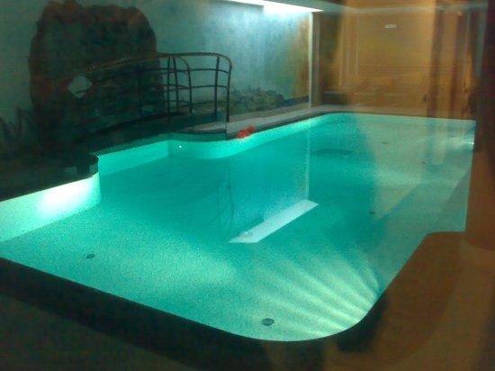 Alp & Wellness Hotel Mota: Piscina