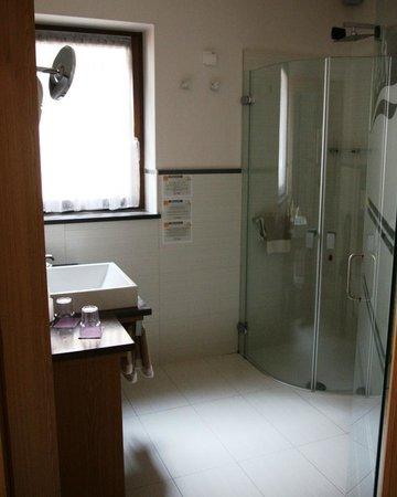Alp & Wellness Hotel Mota: Bagno