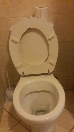 Eagles Nest Lodge & Conference centre: Well used toilet
