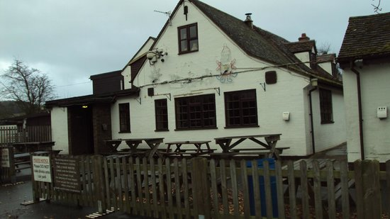 Bridgnorth, UK: Cider House from the car park